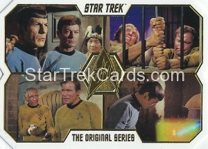 Star Trek The Original Series 50th Anniversary Trading Card 55