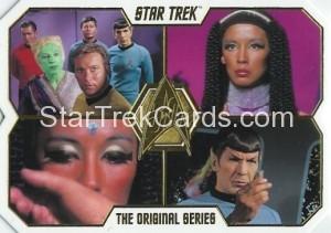 Star Trek The Original Series 50th Anniversary Trading Card 58