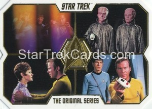 Star Trek The Original Series 50th Anniversary Trading Card 64