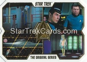 Star Trek The Original Series 50th Anniversary Trading Card 65