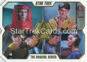 Star Trek The Original Series 50th Anniversary Trading Card 7