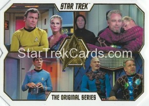 Star Trek The Original Series 50th Anniversary Trading Card 73