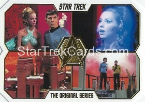 Star Trek The Original Series 50th Anniversary Trading Card 75
