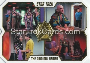 Star Trek The Original Series 50th Anniversary Trading Card 76