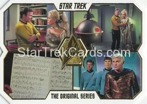 Star Trek The Original Series 50th Anniversary Trading Card 77
