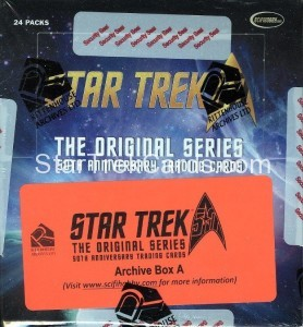 Star Trek The Original Series 50th Anniversary Trading Card Archive Box