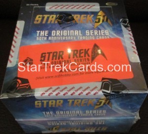 Star Trek The Original Series 50th Anniversary Trading Card Archive Box Alternate