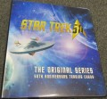 Star Trek The Original Series 50th Anniversary Trading Card Binder