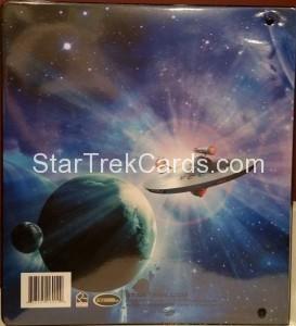 Star Trek The Original Series 50th Anniversary Trading Card Binder Back