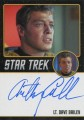 Star Trek The Original Series 50th Anniversary Trading Card Black Border Autograph Anthony Call