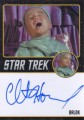 Star Trek The Original Series 50th Anniversary Trading Card Black Border Autograph Clint Howard