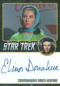 Star Trek The Original Series 50th Anniversary Trading Card Black Border Autograph Elinor Donahue
