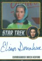 Star Trek The Original Series 50th Anniversary Trading Card Black Border Autograph Elinor Donahue
