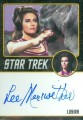 Star Trek The Original Series 50th Anniversary Trading Card Black Border Autograph Lee Meriwether