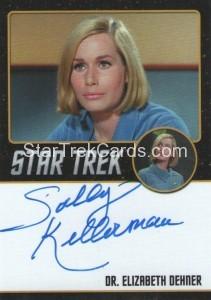 Star Trek The Original Series 50th Anniversary Trading Card Black Border Autograph Sally Kellerman