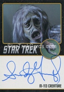 Star Trek The Original Series 50th Anniversary Trading Card Black Border Autograph Sandy Gimpel
