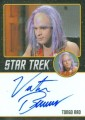 Star Trek The Original Series 50th Anniversary Trading Card Black Border Autograph Victor Brandt