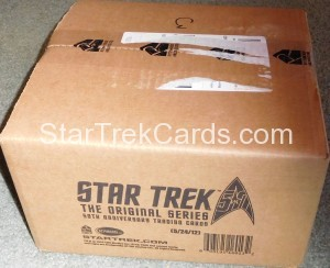 Star Trek The Original Series 50th Anniversary Trading Card Case