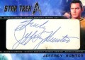 Star Trek The Original Series 50th Anniversary Trading Card Cut Signature Jeffery Hunter