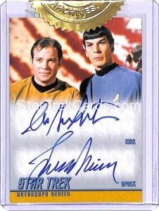 Star Trek The Original Series 50th Anniversary Trading Card DA35