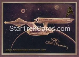 Star Trek The Original Series 50th Anniversary Trading Card E10