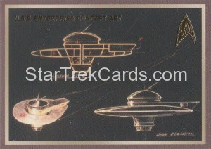 Star Trek The Original Series 50th Anniversary Trading Card E2