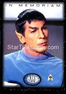 Star Trek The Original Series 50th Anniversary Trading Card M2
