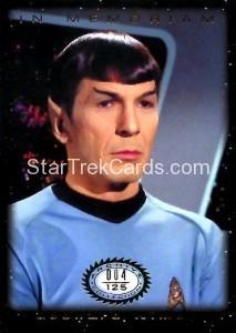 Star Trek The Original Series 50th Anniversary Trading Card M4