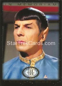 Star Trek The Original Series 50th Anniversary Trading Card M5