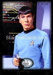 Star Trek The Original Series 50th Anniversary Trading Card M6