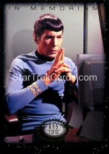 Star Trek The Original Series 50th Anniversary Trading Card M7