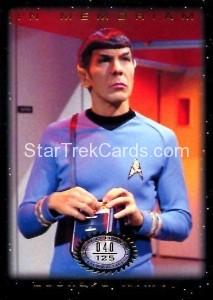 Star Trek The Original Series 50th Anniversary Trading Card M8