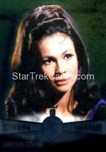 Star Trek The Original Series 50th Anniversary Trading Card M8 Marlena Throwback