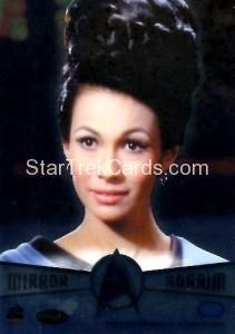 Star Trek The Original Series 50th Anniversary Trading Card M8 Marlena Throwback Back