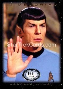 Star Trek The Original Series 50th Anniversary Trading Card M9