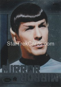 Star Trek The Original Series 50th Anniversary Trading Card MM2 Back