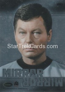 Star Trek The Original Series 50th Anniversary Trading Card MM3 Back