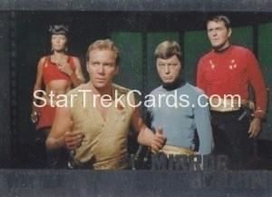 Star Trek The Original Series 50th Anniversary Trading Card MM4 1