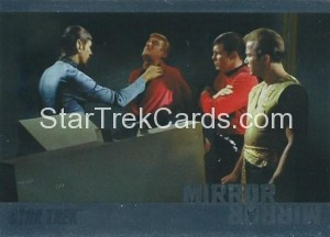 Star Trek The Original Series 50th Anniversary Trading Card MM6 1