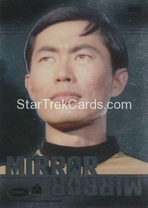 Star Trek The Original Series 50th Anniversary Trading Card MM6 Back