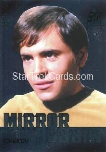 Star Trek The Original Series 50th Anniversary Trading Card MM7 1