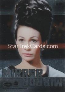 Star Trek The Original Series 50th Anniversary Trading Card MM8 Back