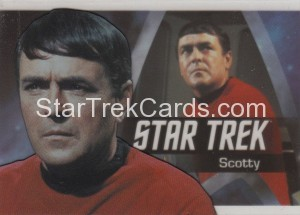 Star Trek The Original Series 50th Anniversary Trading Card P4