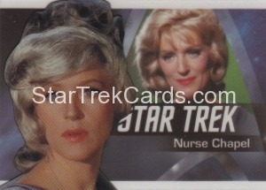 Star Trek The Original Series 50th Anniversary Trading Card P8