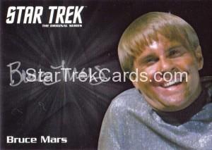 Star Trek The Original Series 50th Anniversary Trading Card Silver Autograph Bruce Mars