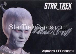Star Trek The Original Series 50th Anniversary Trading Card Silver Autograph William OConnell