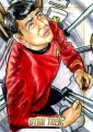 Star Trek The Original Series 50th Anniversary Trading Card Sketch Adam Bekah Cleveland