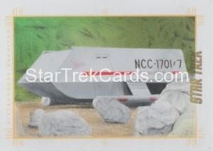 Star Trek The Original Series 50th Anniversary Trading Card Sketch Andrew Garcia Alternate