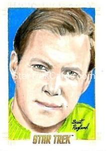 Star Trek The Original Series 50th Anniversary Trading Card Sketch Brent Ragland Alternate