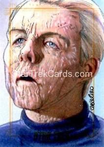 Star Trek The Original Series 50th Anniversary Trading Card Sketch Carlos Cabalerio